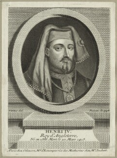 King Henry IV, by Pierre François Basan, after  George Vertue, 1748 - NPG D23726 - © National Portrait Gallery, London