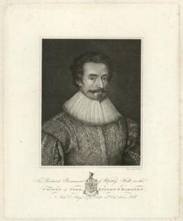 Sir Richard Beaumont, 1st Bt, by James Basire - NPG D31593