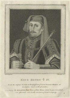King Henry IV, by Charles Knight, after  Silvester Harding - NPG D23730