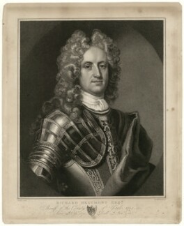 Richard Beaumont, by Henry Meyer, after  Michael Dahl - NPG D31594
