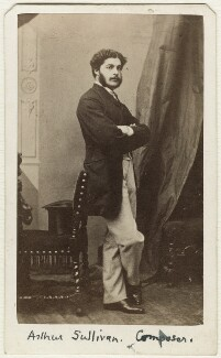 Sir Arthur Seymour Sullivan, by Sarony & Co - NPG Ax38149
