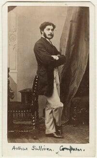 Sir Arthur Seymour Sullivan, by Sarony & Co - NPG Ax38149