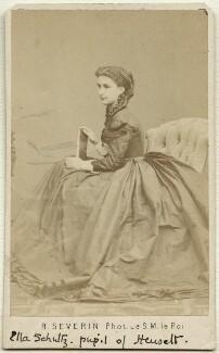 Elisabeth ('Ella') von Schultz-Adaïewsky, by Robert Severin - NPG Ax38153