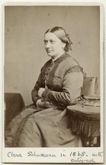 Clara Schumann, by Herbert Watkins - NPG Ax38155