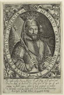 King Henry IV, probably by Renold or Reginold Elstrack (Elstracke) - NPG D23731
