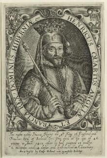 King Henry IV, probably by Renold or Reginold Elstrack (Elstracke) - NPG D23731