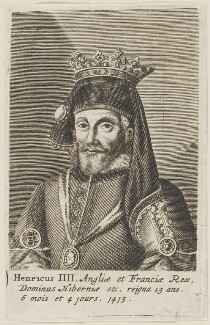 King Henry IV, after Unknown artist - NPG D23734