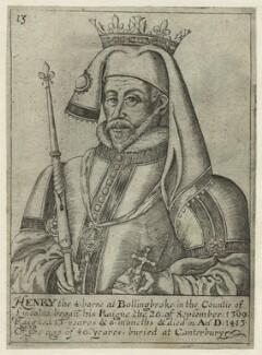 King Henry IV, after Unknown artist - NPG D23736