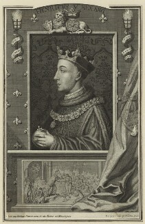 King Henry V, by George Vertue, 1732 - NPG D23737 - © National Portrait Gallery, London