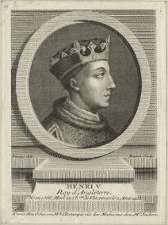 King Henry V, by Pierre François Basan - NPG D23738