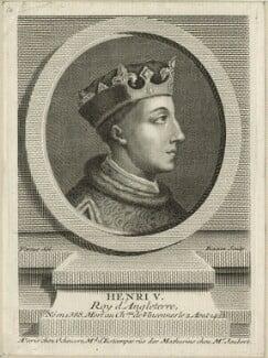 King Henry V, by Pierre François Basan, mid 18th century - NPG D23738 - © National Portrait Gallery, London