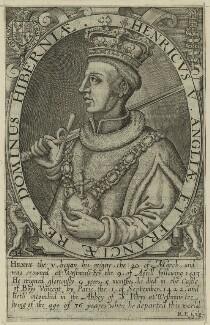 King Henry V, by Renold or Reginold Elstrack (Elstracke) - NPG D23739