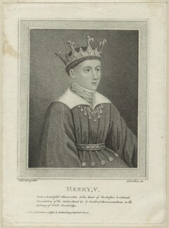 King Henry V, by James Parker, published by  Edward Harding, after  Silvester (Sylvester) Harding - NPG D23741