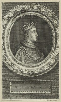 King Henry V, by George Vertue - NPG D23742