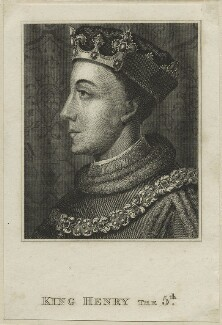 King Henry V, after Unknown artist, probably 18th century - NPG D23743 - © National Portrait Gallery, London