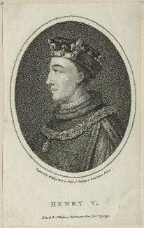 King Henry V, by William Ridley, published by  Charles Cooke - NPG D23746
