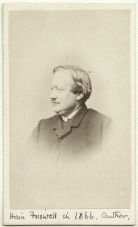 James Hain Friswell, by Valentine Blanchard - NPG Ax38176