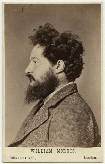 William Morris, by John Robert Parsons, published by  Ellis & Green - NPG Ax38170