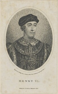 King Henry VI, by William Ridley, published by  Charles Cooke - NPG D23759