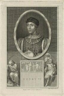 King Henry VI, by John Thornthwaite, published by  Thomas Cadell the Elder - NPG D23761