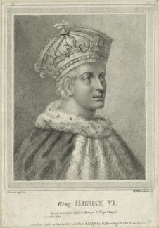 King Henry VI, by William Nelson Gardiner, published by  Edward Harding, after  Silvester (Sylvester) Harding - NPG D23766