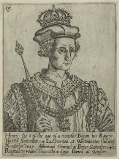 King Henry VI, after Unknown artist, probably 17th century - NPG D23771 - © National Portrait Gallery, London