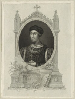 King Henry VI, after Unknown artist, perhaps 18th century - NPG D23772 - © National Portrait Gallery, London