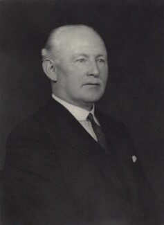 Sir Robert Lowden Connell, by Walter Stoneman - NPG x166714