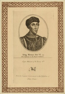 King Henry VI, after Unknown artist, probably 18th century - NPG D23775 - © National Portrait Gallery, London