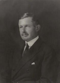 Sackville George Pelham, 5th Earl of Yarborough, by Walter Stoneman - NPG x166717