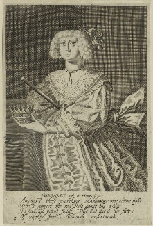Queen Margaret of Anjou, after Unknown artist, perhaps 17th century - NPG D23778 - © National Portrait Gallery, London