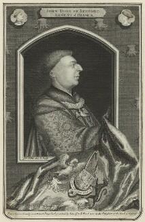 John ('John of Lancaster'), Duke of Bedford, by George Vertue - NPG D23780