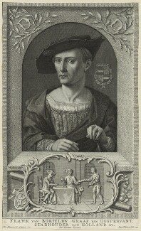 Franck van Borselan, by Jacob Folkema, after  Jaco Jelgersma - NPG D23783