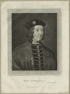 King Edward IV, by James Parker - NPG D23784