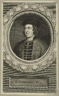 King Edward IV, by George Vertue - NPG D23786
