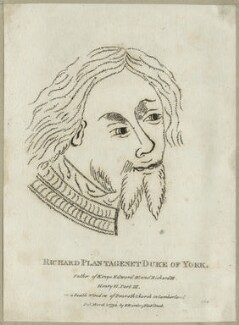 Richard of York, 3rd Duke of York, published by Edward Harding - NPG D23789