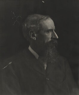 Sir Leslie Stephen, by Eveleen Myers (née Tennant) - NPG Ax36302