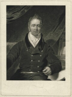 Richard Benyon de Beauvoir, by Henry Edward Dawe, after  Samuel Lane - NPG D31600