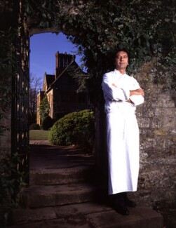 Raymond Blanc, by Barry Marsden - NPG P718(1)