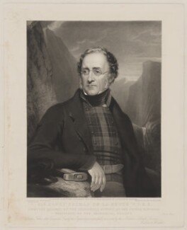 Sir Henry Thomas de la Beche, by William Walker, after  Henry Pierce Bone - NPG D31602