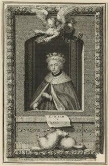 King Edward V, by George Vertue, 1732 - NPG D23808 - © National Portrait Gallery, London