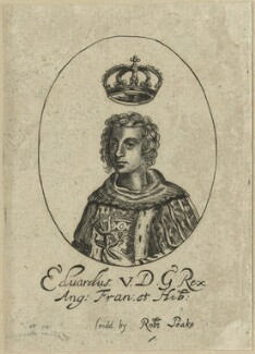 King Edward V, possibly by William Faithorne - NPG D23809