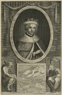 King Edward V, after Unknown artist, probably 18th century - NPG D23810 - © National Portrait Gallery, London