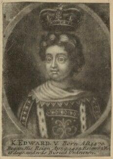 King Edward V, after Unknown artist, probably 18th century - NPG D23811 - © National Portrait Gallery, London
