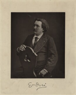 Gustave Doré, by Nadar, printed and published by  Goupil & Co - NPG x24818