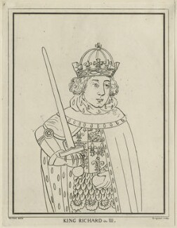 King Richard III, possibly by Charles Grignion, after  George Vertue - NPG D23816