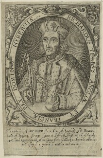 King Richard III, by Renold or Reginold Elstrack (Elstracke) - NPG D23818