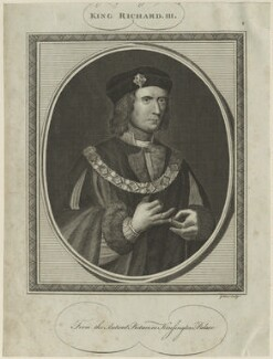 King Richard III, by John Goldar - NPG D23819