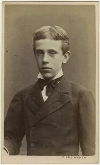 Prince Rudolf, Archduke of Austria, by Rudolf Krziwanek - NPG x5824