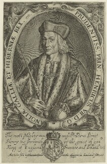 King Henry VII, after Unknown artist, probably 17th century - NPG D23825 - © National Portrait Gallery, London